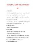 Giáo án Âm nhạc lớp 7 : Tên bài dạy : ÔN TẬP VÀ KIỂM TRA CUỐI HỌC KÌ I