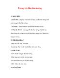 Giáo án Mỹ thuật lớp 7 : Tên bài dạy : Trang trí đầu báo tường