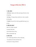 Giáo án Mỹ thuật lớp 7 : Tên bài dạy : Trang trí đĩa tròn (Tiết 1)