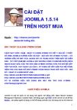 CÀI ĐẶT JOOMLA 1.5.14 TRÊN HOST MUA