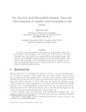 """Báo cáo toán học: """"The Directed Anti-Oberwolfach Solution: Pancyclic 2-factorizations of complete directed graphs of odd order"""""""