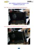 Quy trình lắp ráp PC bằng Case Coodmax Slim  ATX