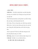 Giáo án Vật lý lớp 9 : Tên bài dạy : DÒNG ĐIỆN XOAY CHIỀU.