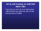 Bài giảng CHẨN ĐOÁN, XỬ TRÍ VÀ PHÒNG LÂY NHIỄM CÚM A (H5N1) Ở NGƯỜI part 10
