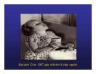 Bài giảng CHẨN ĐOÁN, XỬ TRÍ VÀ PHÒNG LÂY NHIỄM CÚM A (H5N1) Ở NGƯỜI part 2