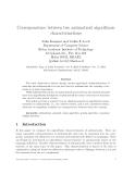 Báo cáo khoa học: Correspondence between two antimatroid algorithmic characterizations