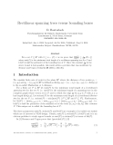 Báo cáo khoa học: Rectilinear spanning trees versus bounding boxes