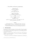 """Báo cáo toán học: """"On rainbow arithmetic progressions"""""""