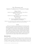 """Báo cáo toán học: """"Airy Phenomena and Analytic Combinatorics of Connected Graphs"""""""