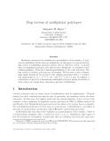 """Báo cáo toán học: """"Flag vectors of multiplicial polytopes"""""""