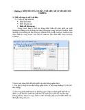 Chương 3. MỘT SỐ CÔNG CỤ XỬ LÝ SỐ LIỆU. XỬ LÝ SỐ LIỆU MÔI TRƯỜNG