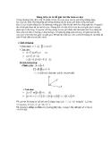 Tài liệu: Dùng tích véc tơ để giải các bài toán cơ học