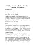 Tích hợp Websphere Business Modeler, Rational Data Architect