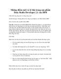 Những điểm mới và lý thú trong sản phẩm Data Studio Developer 2.1 của IBM