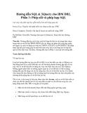Hướng dẫn SQL & XQuery cho IBM DB2, Phần 3: Phép nối và phép hợp SQL