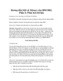 Hướng dẫn SQL & XQuery cho IBM DB2, Phần 4: Phân tích dữ liệu