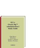 Sybex OCA Oracle 10g Administration I Study Guide phần 1