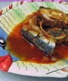 Cá mòi kho