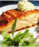 Cá hồi xốt bơ chanh
