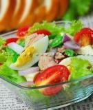 Chế biến nước sốt cho món salad