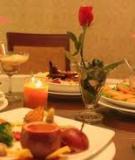 Bữa tráng miệng ngọt ngào ngày Valentine