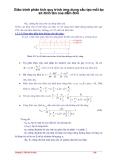 Giáo trình phân tích quy trình ứng dụng cấu tạo mối ép sít đinh tán của dầm đơn p1
