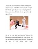 10 lý do tại sao nam giới ngại kết hôn