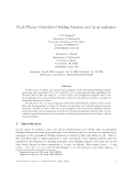 """Báo cáo toán học: """"Rook Theory, Generalized Stirling Numbers and (p, q)-analogues"""""""