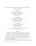 "Báo cáo toán học: ""The Edmonds-Gallai Decomposition for the k-Piece Packing Problem"""