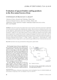 """Báo cáo lâm nghiệp: """"Evaluation of squared timber and log products in the Hyrcanian Forests of Iran"""""""