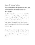 6 cách giúp 'tân trang' kiểu tóc