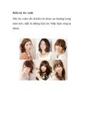 Kiêu kỳ tóc xoăn