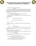 Giáo trình phân tích quy trình ứng dụng những khoảng cách trong thiên văn nhật động p1