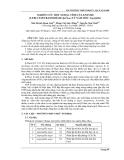 NGHIÊN CỨU MỘT SỐ ĐẶC TÍNH CỦA ENZYME β-FRUCTOFURANOSIDASE (β-Ffase) TỪ NẤM MỐC