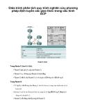 Giáo trình phân tích quy trình nghiên cứu phương pháp định tuyến các giao thức trong cấu hình ACP p1