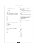 The sat math section 3