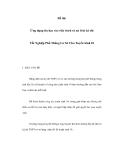 Ứng dụng tin học vào việc trích và xử lí từ kỳ thi Tốt Nghiệp Phổ Thông Cơ Sở Cho Tuyển Sinh 10