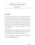 """GIÚP ĐỠ GIÁO VIÊN – PHẤN ĐẤU THÀNH GVGTH """"A"""" HÒA LẠC"""