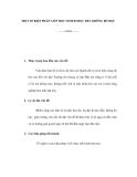 MỘT SỐ BIỆN PHÁP GIÚP HỌC SINH ĐI HỌC ĐỀU KHÔNG BỎ HỌC
