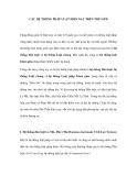 Tìm hiểu về CÁC HỆ THỐNG PHÁP LUẬT HIỆN NAY TRÊN THẾ GIỚI