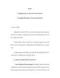 Ứng dụng tin học vào việc trích và xử lí từ kỳ thi Tốt Nghiệp