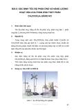 XÁC ĐỊNH TỐC ĐỘ PHẢN ỨNG VÀ NĂNG LƯỢNG HOẠT HÓA CỦA PHÂN TỬ THỦY PHÂN NCH3COOC2H5 BẰNG HCL