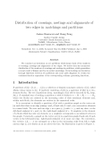 """Báo cáo toán học: """"Distribution of crossings, nestings and alignments of two edges in matchings and partitions"""""""