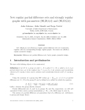 """Báo cáo toán học: """"New regular partial difference sets and strongly regular graphs with parameters (96,20,4,4) and (96,19,2,4)"""""""