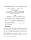 """Báo cáo toán học: """"Edge and total choosability of near-outerplanar graphs"""""""