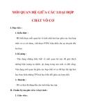 Giáo án Hóa học lớp 9 : Tên bài dạy : MỐI QUAN HỆ GIỮA CÁC LOẠI HỢP CHẤT VÔ CƠ