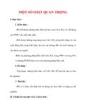 Giáo án Hóa học lớp 9 : Tên bài dạy : MỘT SỐ OXIT QUAN TRỌNG