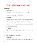 Giáo án Hóa học lớp 9 : Tên bài dạy : TÍNH CHẤT HÓA HỌC CỦA AXIT