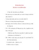 Giáo án Công Nghệ lớp 8: Bài tập thực hành. Đọc bản vẽ các khối đa diện