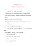 Giáo án Công Nghệ lớp 8: Bài tập thực hành. Đọc bản vẽ các khối tròn xoay